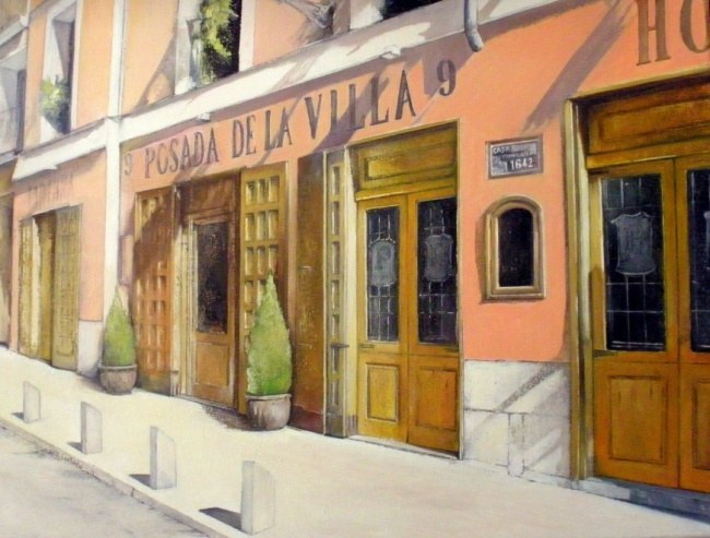 Taberna la Villa de Madrid