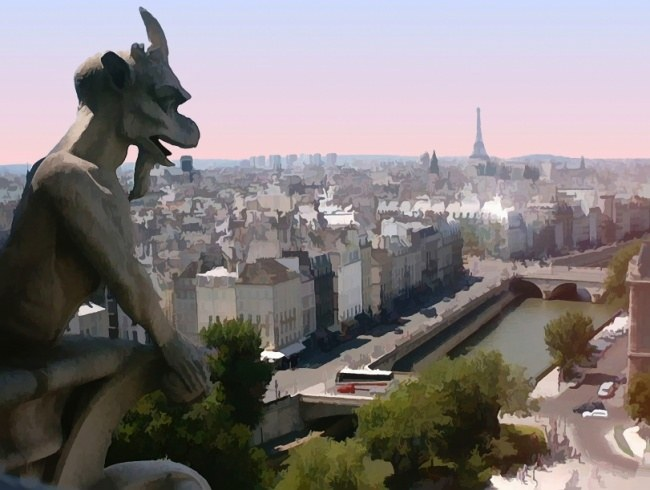Alternative view of Paris