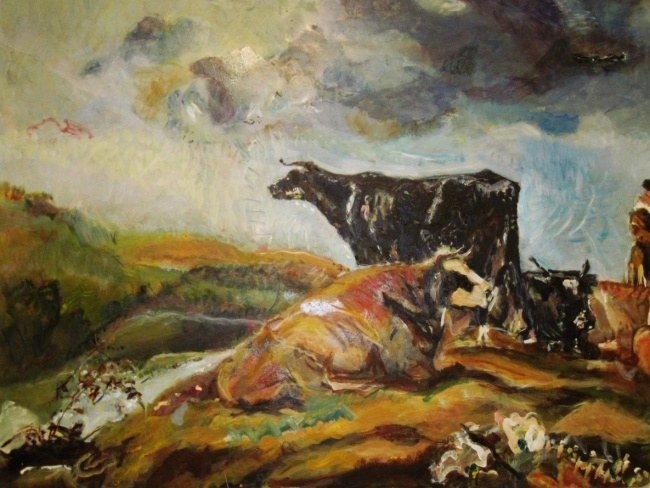 Cows After Cuyp