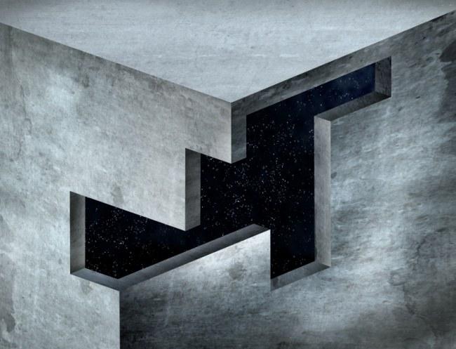 Impossible Corner Optical Illusion