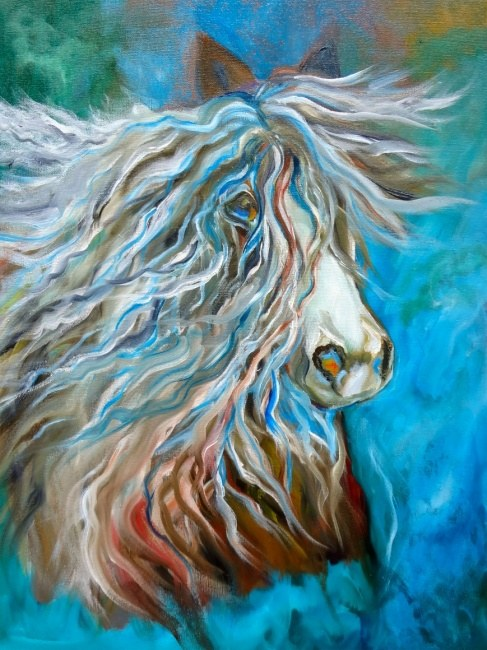 Roan Stallion