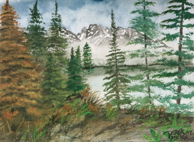 Jackson Hole Wyoming art print