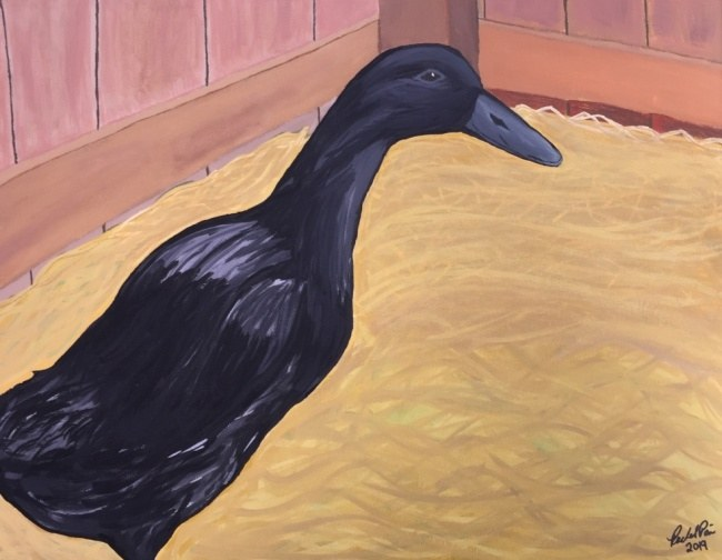 Goth-duck