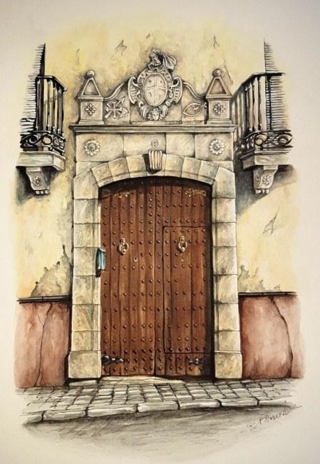 Doorway in Alhama de Granada