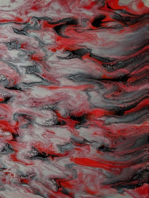 """Emma"" Original acrylic abstract painting"