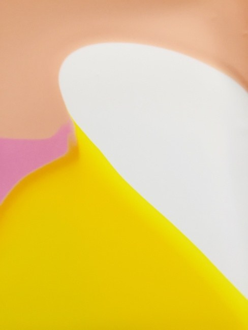 White Yellow Peach Flow