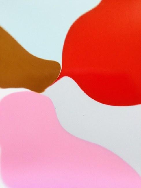 Red Pink Grey Flow