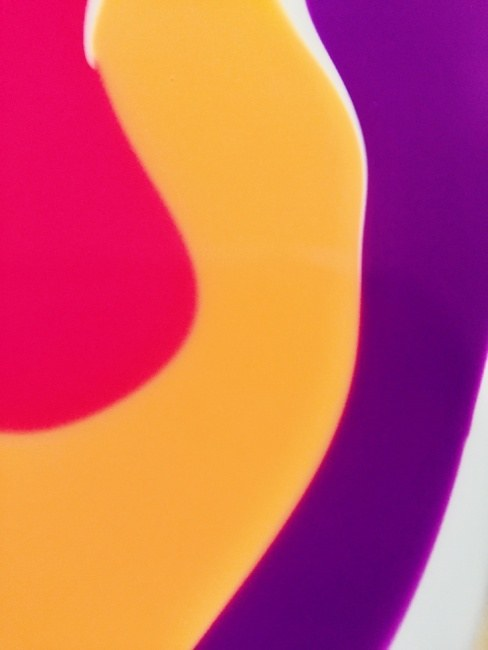 Purple Yellow Red Flow