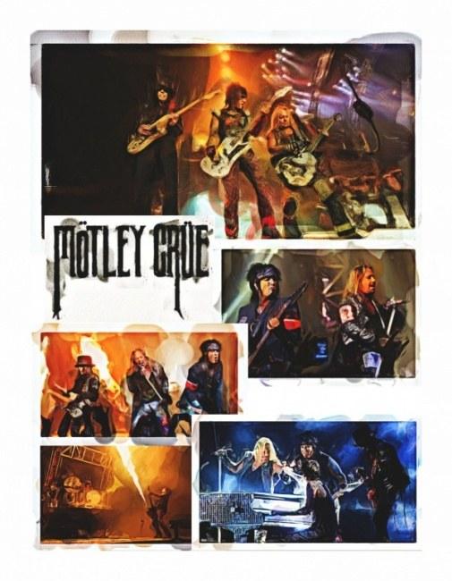 Montley Crue poster