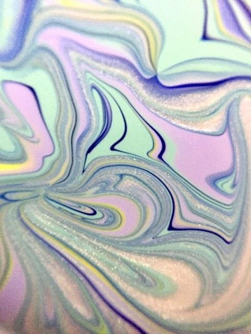 Purple Green Lands Silver Streams Flow