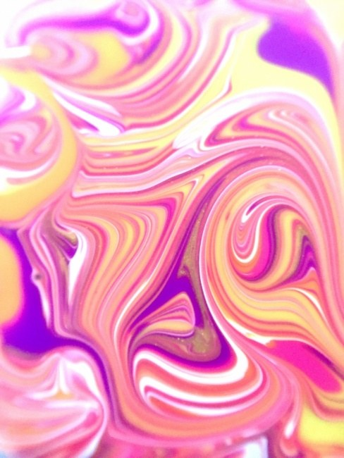 Yellow Swirls Flow