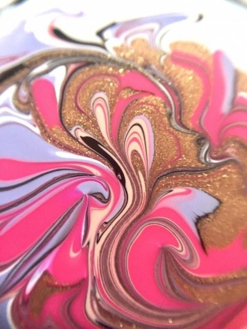 Pink Bronze Endless Lakes Flow