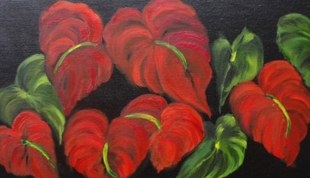 Dancing Anthuriums