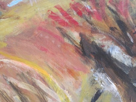 Painterly abstract