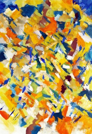 Colors 4 - Abstract painting