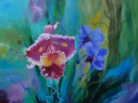 Colorful Orchids 1