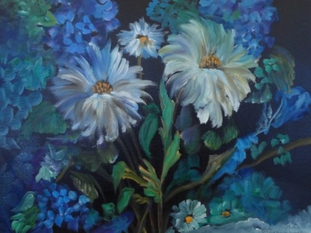 Daisies at Midnight