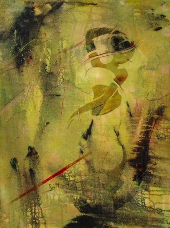Abstract painting - Sringara Rasa