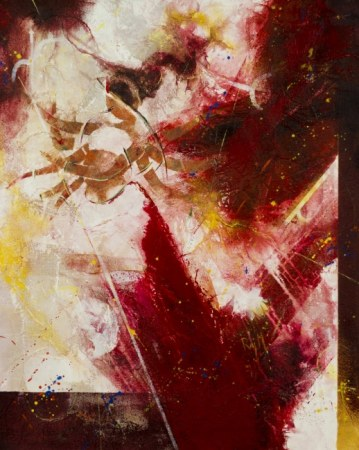 Abstract painting - Durga