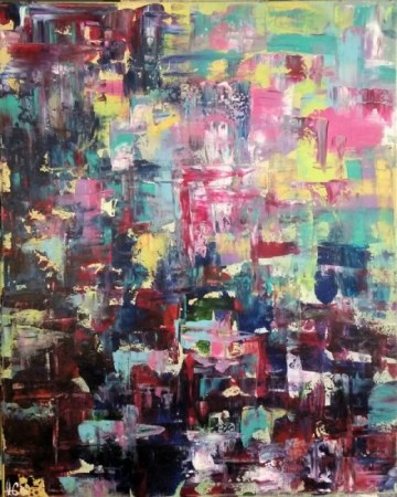 Abstract painting - Absentminded Ramblings