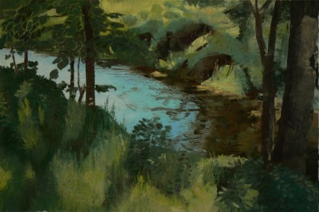 Brook - Landscape painting