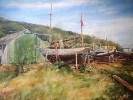 Boatyard near Whitby