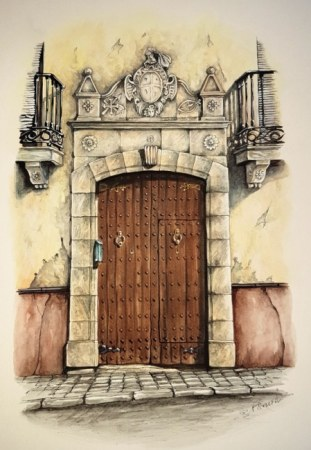 Doorway in Alhama de Granada
