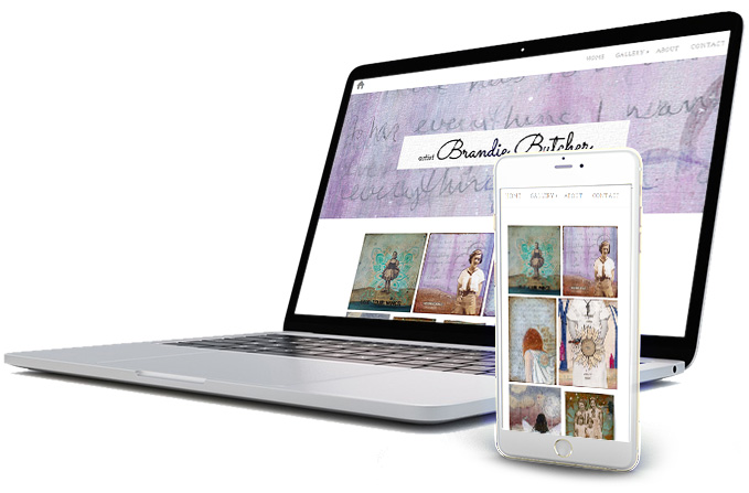 Reach art portfolio websites