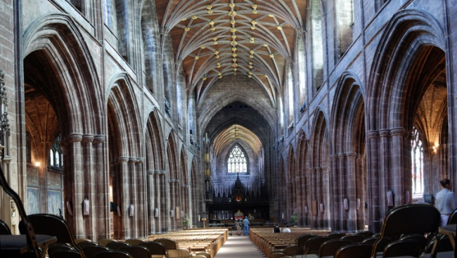 Chester Cathedral - Panorama