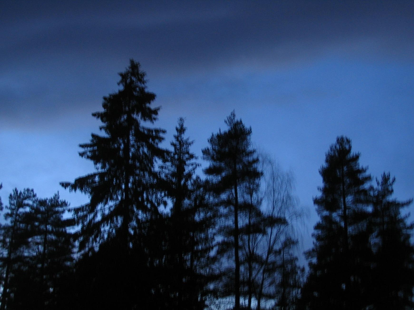 dark blue sky with - photo #33