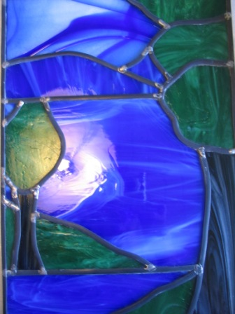 First Stained glass1