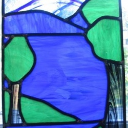 First Stained Glass