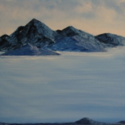 Mountainous Islands - SOLD