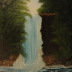 The waterfall SOLD