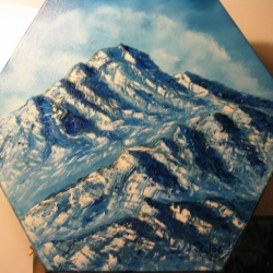 Blue Winter 3 - Another Mountain