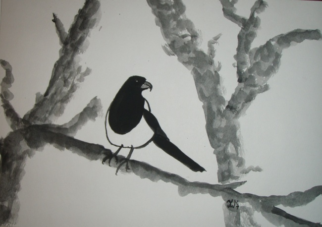 Arrogant Bird - SOLD and sent to USA