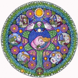 The Frogprince Fairy Tale Mandala
