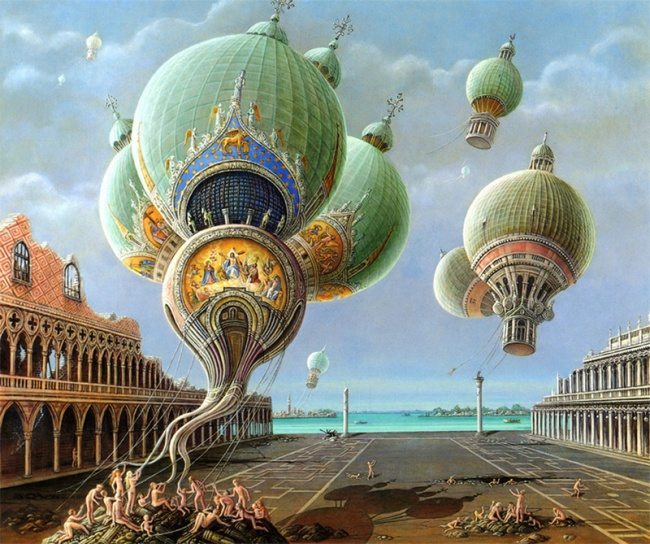 Magical realism paintings