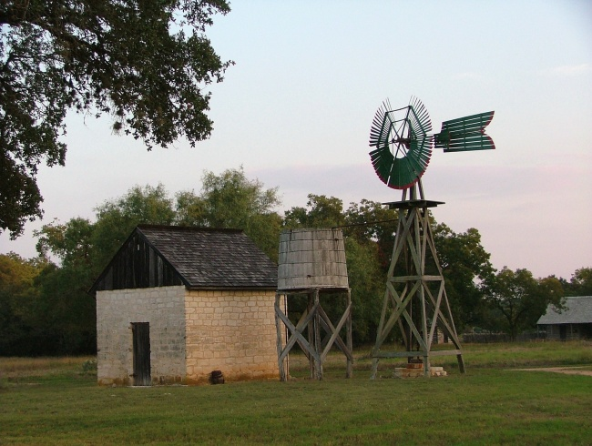 Old Windmill and Water Tank w/pump house