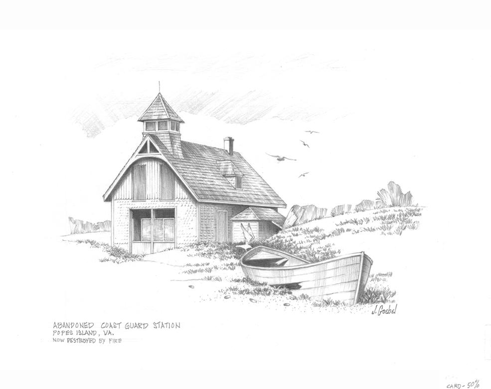 Abandoned Coast Guard Station Jgoebelart Foundmyself