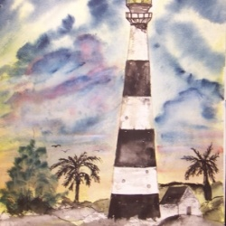 Cape Canaveral Lighthouse limited edition print