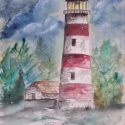 Sapelo Island Lighthouse Limited Edition Print
