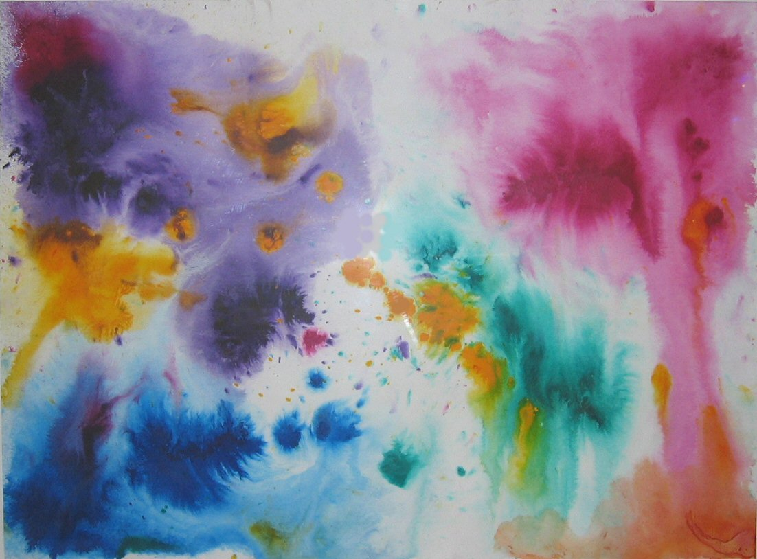 abstract and water color - photo #14
