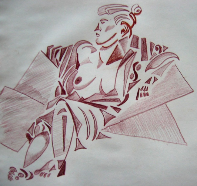 Reclined Woman 2