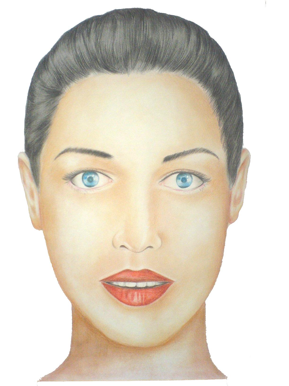 face of a lady | JITEN...
