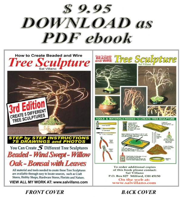 ebook of How To Create Beaded & Wire Tree Sculpture