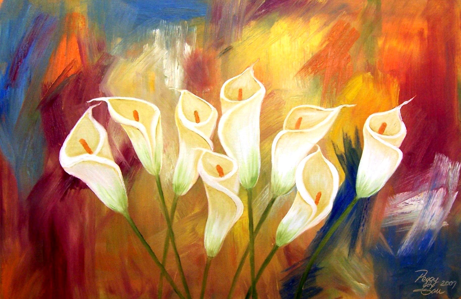 The Lily Garden | peggygarrgallery | Foundmyself