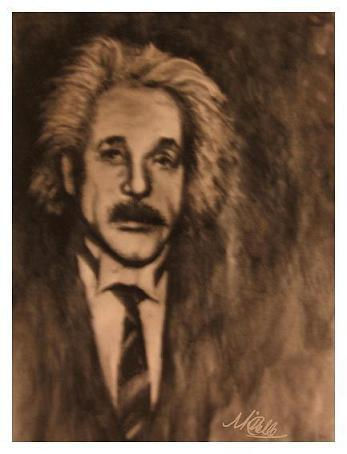 sketch einstein
