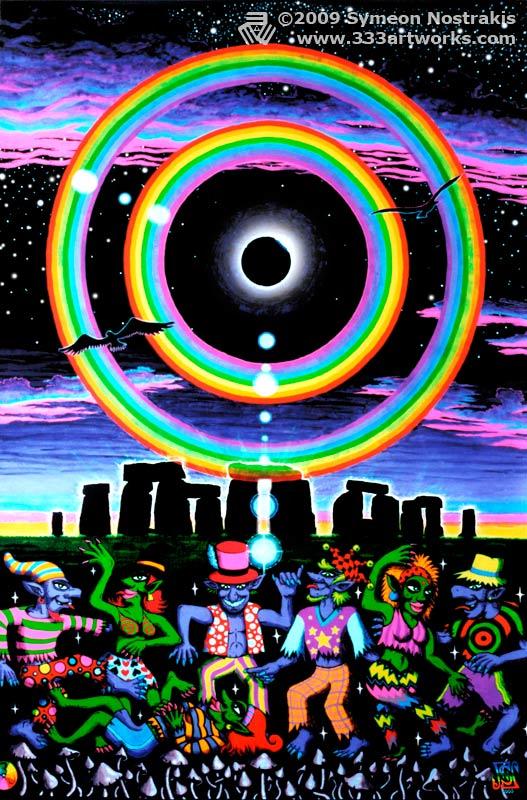 Triplethree Albums UV Blacklight Glow In The Dark Art Posters Of My Best