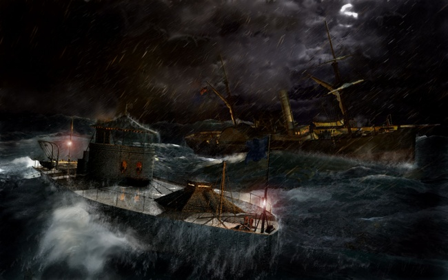 USS Monitor: Lost in the Storm